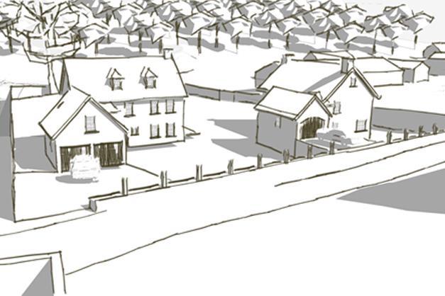 Réalisation d'un permis d'urbanisation sur la commune de Chaumont-Gistoux