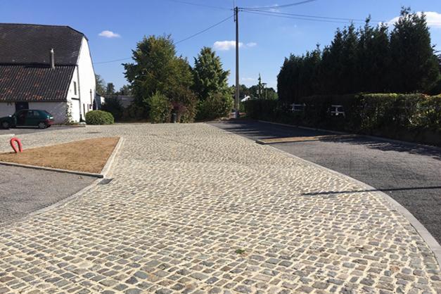 Réalisation d'une étude complète pour le parking de Froidmont sur la commune de Rixensart